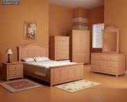 3D model of Bedroom Furniture 18 Set