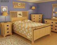 3D model of Bedroom Furniture 22 Set