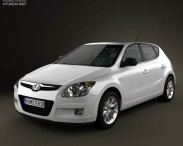 3D model of Hyundai i30 2010