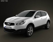 3D model of Nissan Qashqai (Dualis) 2010
