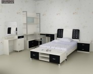 3D model of Nursery Room Furniture 06 Set