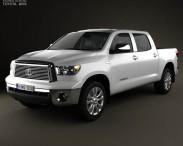 3D model of Toyota Tundra Crew Max 2011