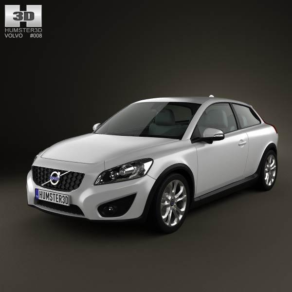 Volvo C30 2011 3d car model