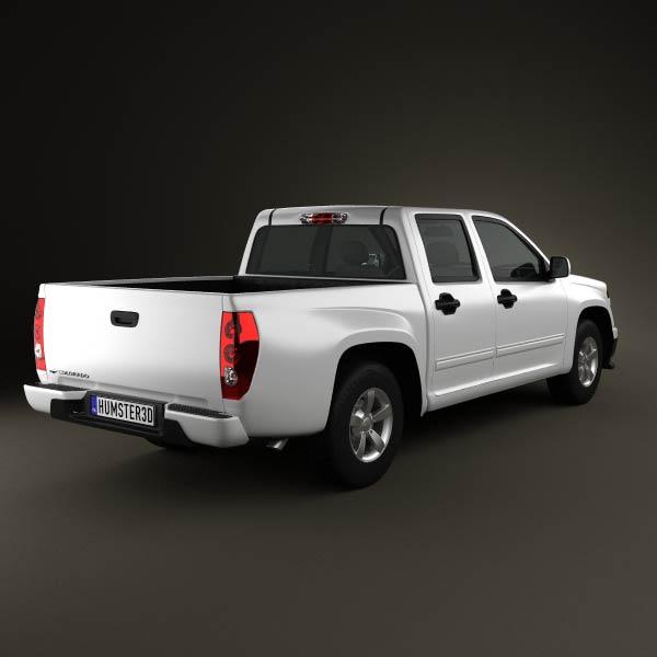 Chevrolet Colorado Crew Cab 2012 3d model