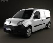 3D model of Renault Kangoo Maxi 2011