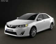 3D model of Toyota Camry 2012 US Version