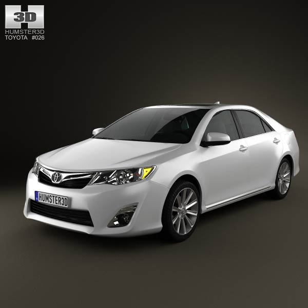 toyota camry 2012 3d model. Black Bedroom Furniture Sets. Home Design Ideas