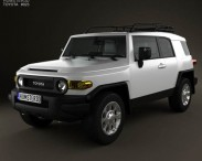 3D model of Toyota FJ Cruiser 2011