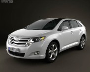 3D model of Toyota Venza 2011