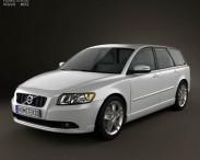 3D model of Volvo V50 2011