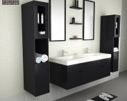 3D model of Bathroom Furniture 08 Set