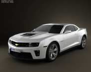 3D model of Chevrolet Camaro ZL1 2011