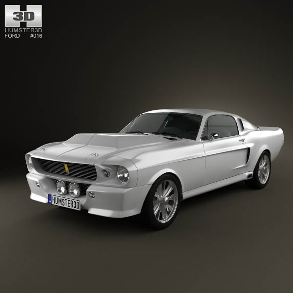 Ford Mustang Shelby Gt500 Eleanor 1967 Model