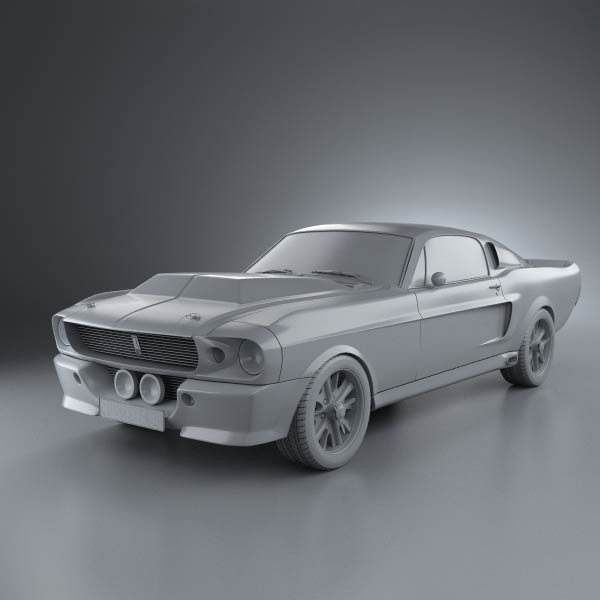 Ford Mustang Eleanor 1967 Model