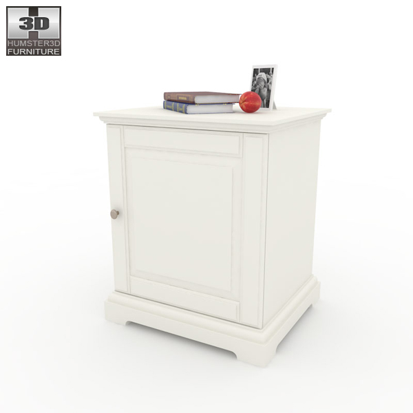 IKEA BIRKELAND Bedside Table 3D Model download in .3ds .max .obj ...