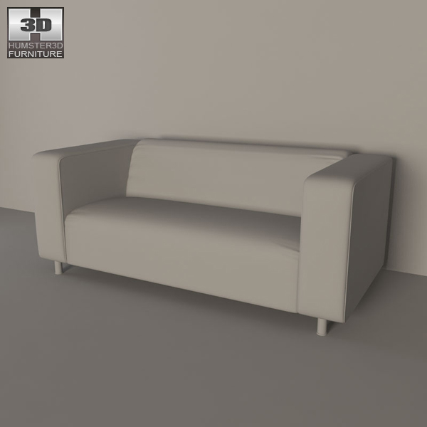 ikea klippan sofa 3d model humster3d. Black Bedroom Furniture Sets. Home Design Ideas