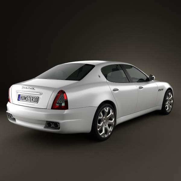 Maserati Quattroporte 2011 3d model