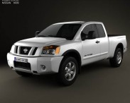 3D model of Nissan Titan 2011