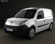 3D model of Renault Kangoo Van 1 Side Door 2011