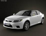 3D model of Toyota Zelas 2011