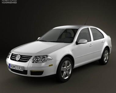 3D model of Volkswagen Jetta City