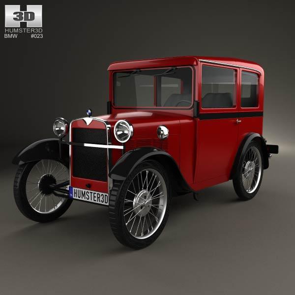 bmw dixi 1928 3d model humster3d. Black Bedroom Furniture Sets. Home Design Ideas