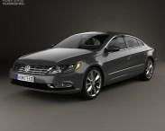 3D model of Volkswagen Passat CC 2013