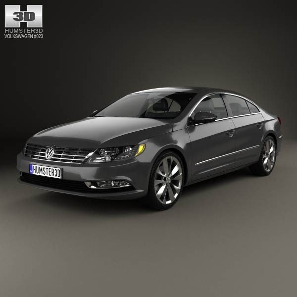 volkswagen passat cc 2013 3d model humster3d. Black Bedroom Furniture Sets. Home Design Ideas