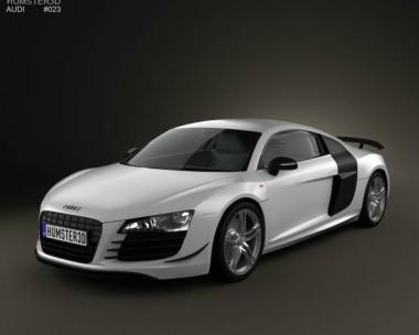 3D model of Audi R8 GT 2011