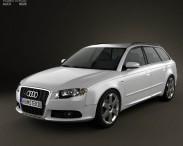 3D model of Audi S4 Avant 2005