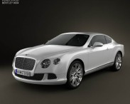 3D model of Bentley Continental GT 2012