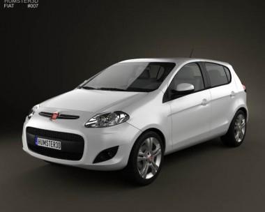 3D model of Fiat Palio 2012