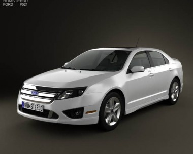 3D model of Ford Fusion Sport 2010