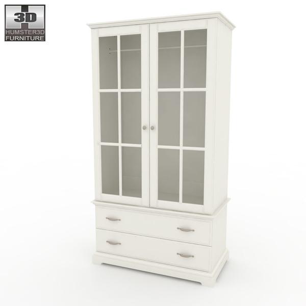 IKEA BIRKELAND Wardrobe 3d model