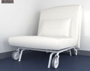 3D model of IKEA PS LOVAS Chair-Bed