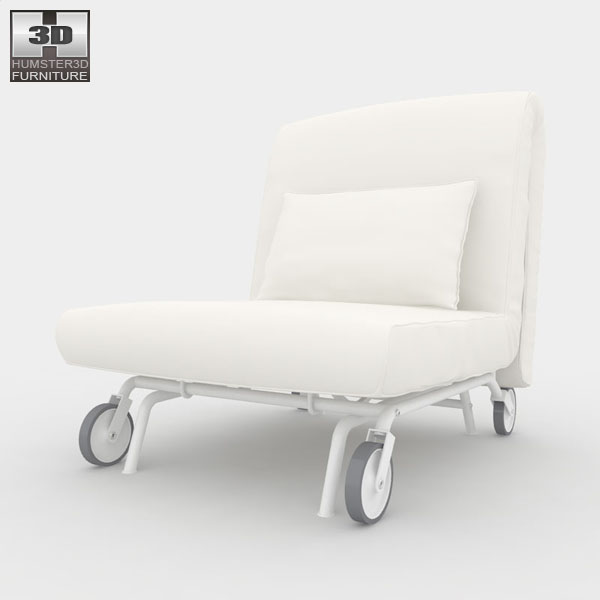 IKEA PS LOVAS Chair-Bed 3d model