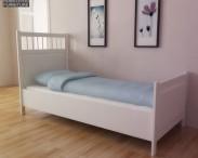 3D model of IKEA HEMNES Bed