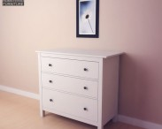 3D model of IKEA HEMNES Chest of 3 Drawers
