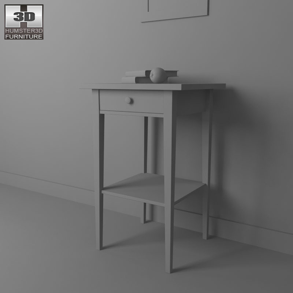 Ikea Ideas Festival Glasgow ~ ikea hemnes bedside table 3 3d model ikea hemnes bedside table 03 3d