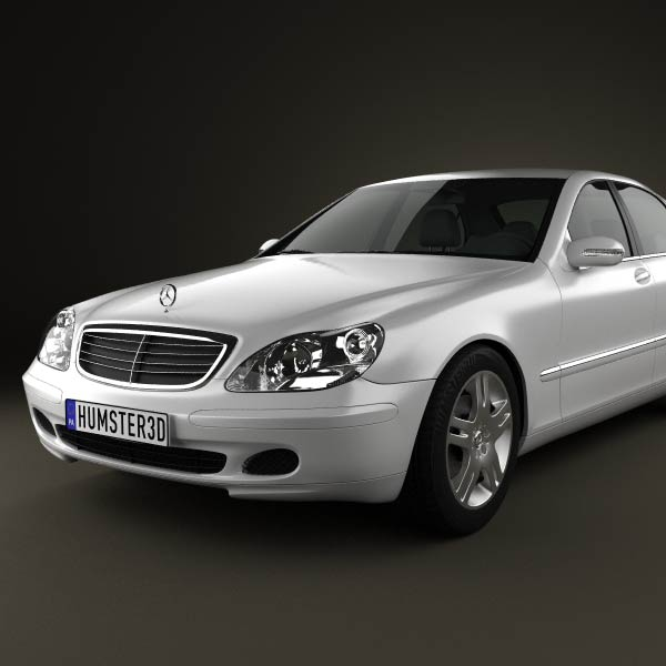 Mercedes benz s class 2003 3d model humster3d for Mercedes benz different models