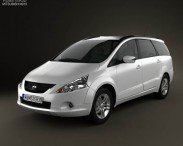 3D model of Mitsubishi Grandis 2012