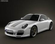 3D model of Porsche 911 Sport Classic 2011