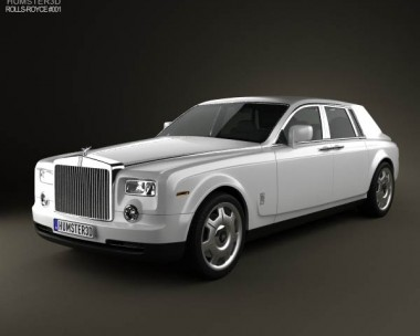3D model of Rolls-Royce Phantom 2011