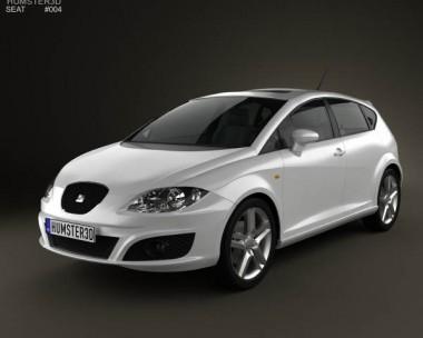 3D model of Seat Leon 2009