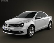 3D model of Volkswagen EOS 2012