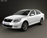 3D model of Skoda Octavia (Laura) sedan 2009