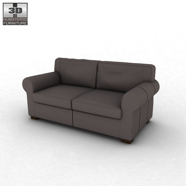 Ikea Ektorp Two Seat Sofa 3d Model Humster3d