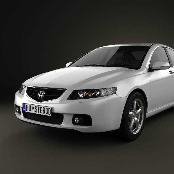 Honda accord sedan 2003 3d model humster3d for Honda accord base model