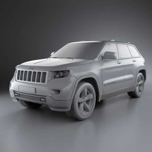 jeep grand cherokee 2011 3d model humster3d. Black Bedroom Furniture Sets. Home Design Ideas