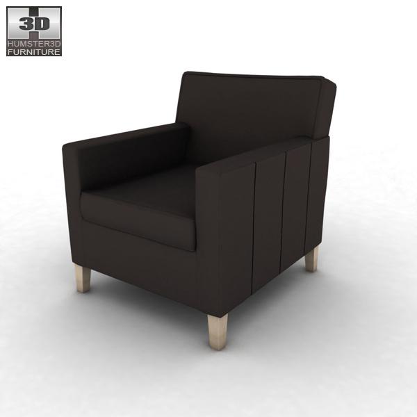Karlstad Ikea Review: IKEA KARLSTAD Chair 3D Model